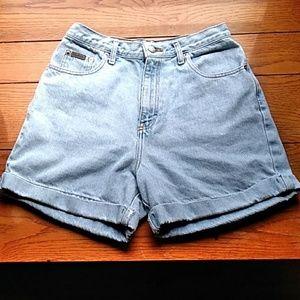 Vintage Calvin Klein Highwaist Shorts Size 9/10